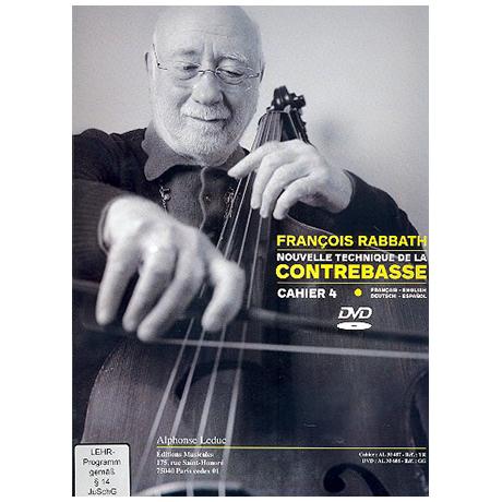 Rabbath, F.: Nouvelle technique de la contrebasse Vol.4 (+DVD)