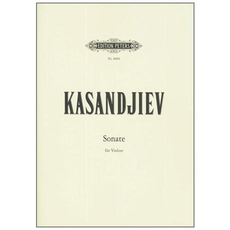 Kasandjiev, W.: Sonate