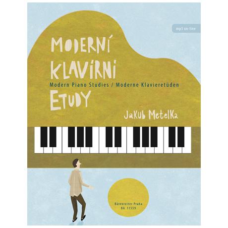 Metelka, J.: Moderne Klavieretüden (+MP3 Online)