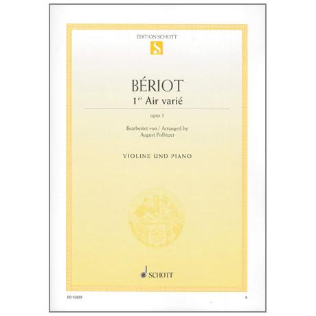 Bériot, Ch. d.: Air varié d-Moll Op.1