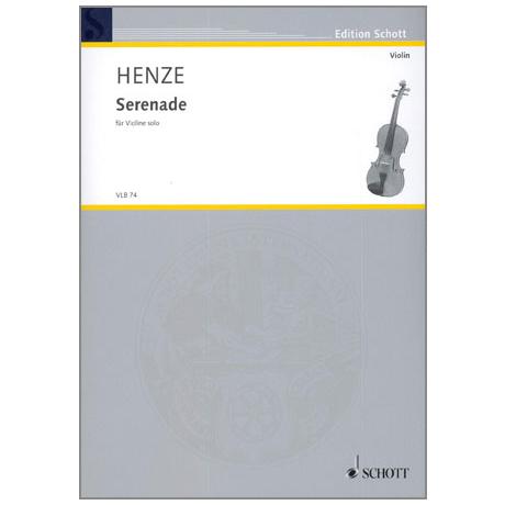 Henze, H.W.: Serenade