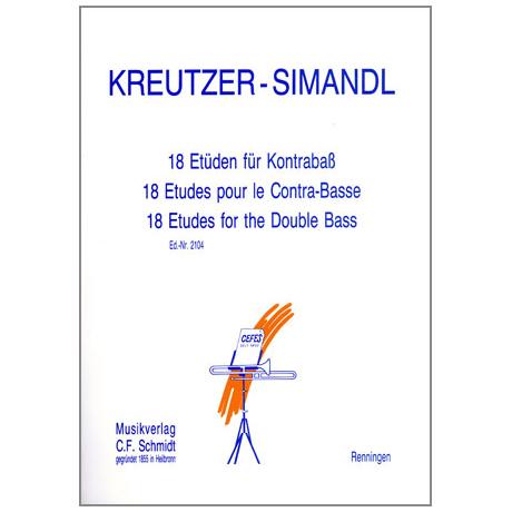 Kreutzer, R. / Simandl, F.: 18 Etüden