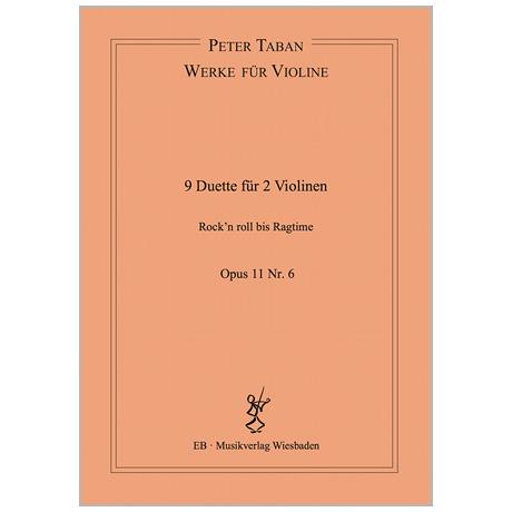 Taban, P.: 9 Duette Op. 11/6