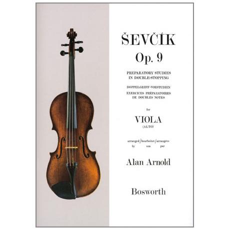 Sevcik, O.: Doppelgriff-Vorstudien für Viola Op. 9
