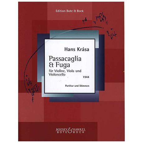 Krása, H.: Passacaglia und Fuge (1944)