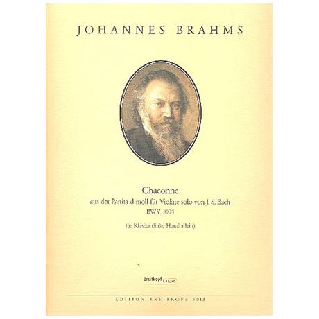 Brahms, J.: Chaconne aus der Partita d-Moll von J. S. Bach BWV 1004