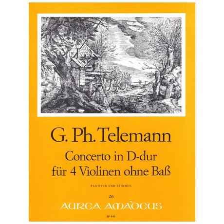 Telemann, G. Ph.: Konzert D-Dur TWV 40:202