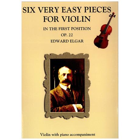Elgar, E.: 6 einfache Stücke Op. 22