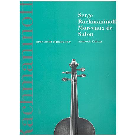 Rachmaninoff, S.: Morceaux de salon Op. 6