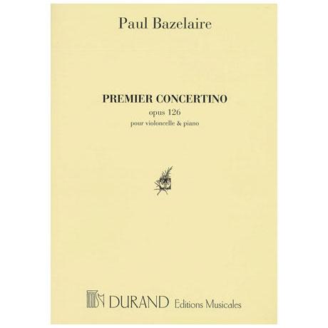 Bazelaire, P.: Concertini Nr. 1 Op. 126