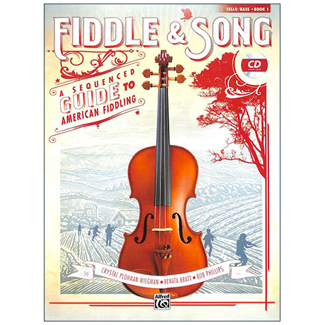 Fiddle & Song for Cello Book 1 (+CD)