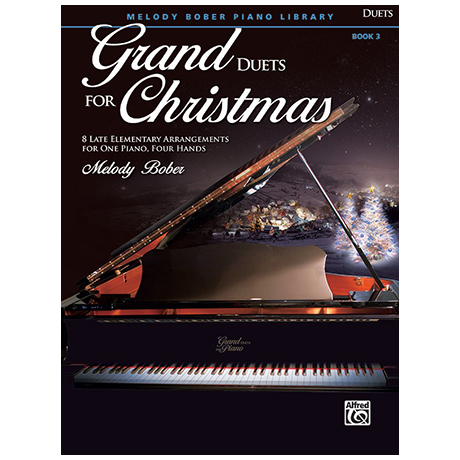 Bober, M.: Grand Duets for Christmas Book 3