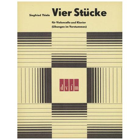 Thiele, S.: 4 Stücke, Übungen im Verstummen