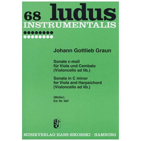 Graun, J. G.: Violasonate c-Moll