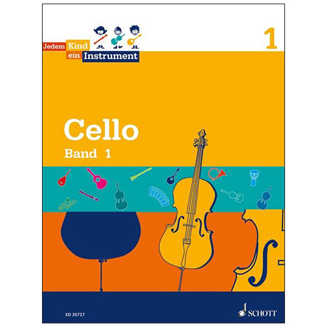 Jedem Kind ein Instrument - Cello Band 1