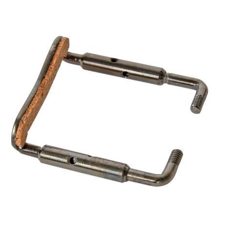 Titanium screws for chin rest