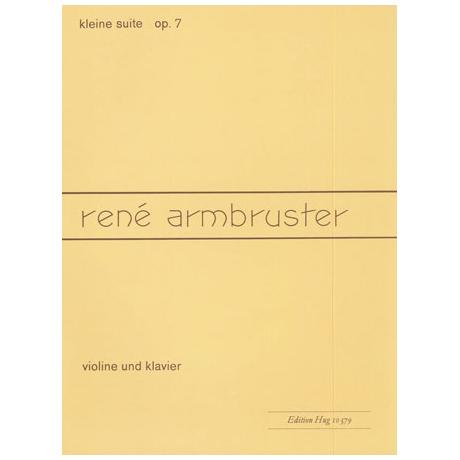 Armbruster, R.: Kleine Suite Op. 7
