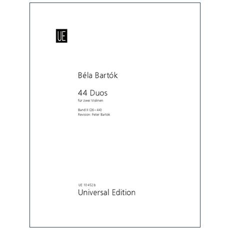 Bartók, B.: 44 Duos Band 2