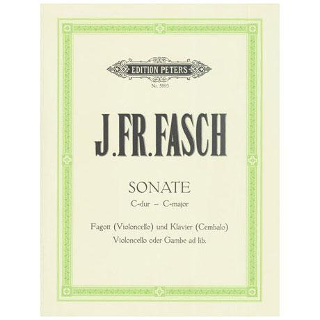 Fasch, C. Fr.: Sonate C-Dur