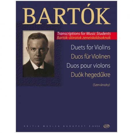 Bartók, B.: Duos aus den Chorwerken