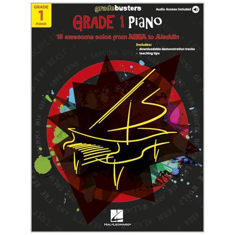 Gradebusters Grade 1 Piano (+Online Audio)
