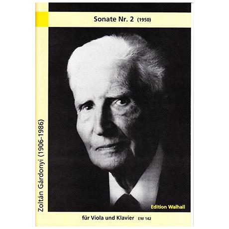 Gárdonyi, Z.: Violasonate Nr.2