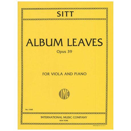 Sitt, H.: Albumblätter Op. 39