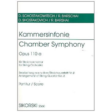 Schostakowitsch, D.: Kammersinfonie op. 110a