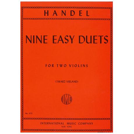 Händel, G. F.: Neun leichte Duette