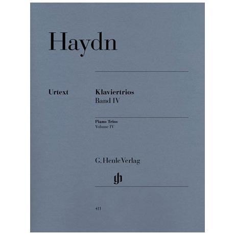 Haydn, J.: Klaviertrios Band 4 Hob XV:18-26