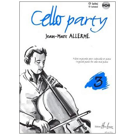Allerme, J.-M.: Cello Party Band 3 (+CD)