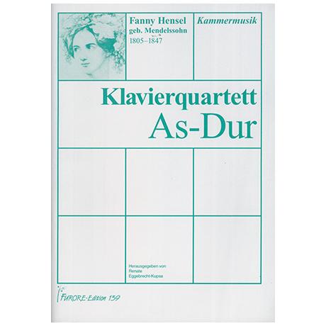 Hensel (Mendelssohn), F.: Klavierquartett As-Dur