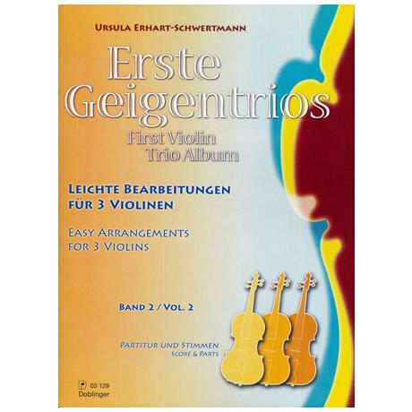 Erhart-Schwertmann, U.: Erste Geigentrios Band 2