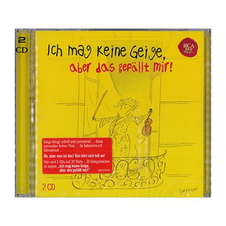 Ich mag keine Geige, aber das gefällt mir! 2 CDs