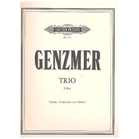 Genzmer, H.: Klaviertrio Nr. 1 F-Dur