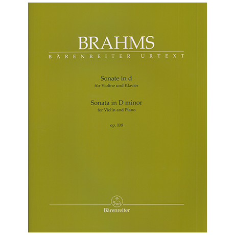 Brahms, J.: Violinsonate Op. 108 d minor
