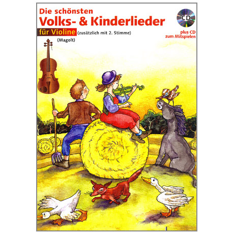 Magolt, M. & H.: Die schönsten Volks- und Kinderlieder (+CD)