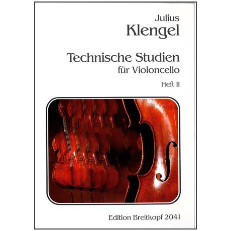 Klengel, J.: Technische Studien durch alle Tonarten Band II