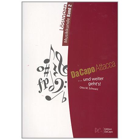 Da Capo Attacca - Lösungen Musikkunde Band 2