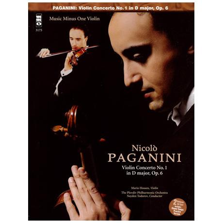 Paganini: Violinkonzert D-Dur op.6 Nr.1 (+2CDs)