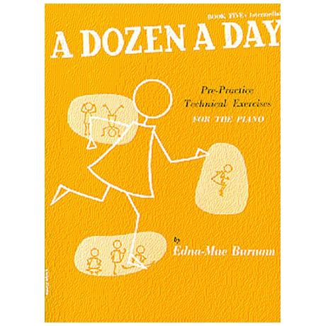 Burnam, E. M.: A Dozen A Day Book 5: Intermediate