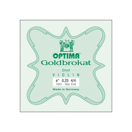 OPTIMA Goldbrokat violin string E