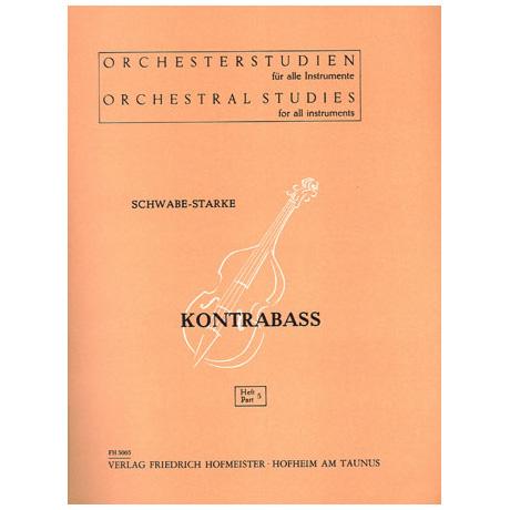 Schwabe / Starke, A.: Orchesterstudien Band 4 - Mozart, Berlioz, Cherubini, Auber, Schubert, Schumann