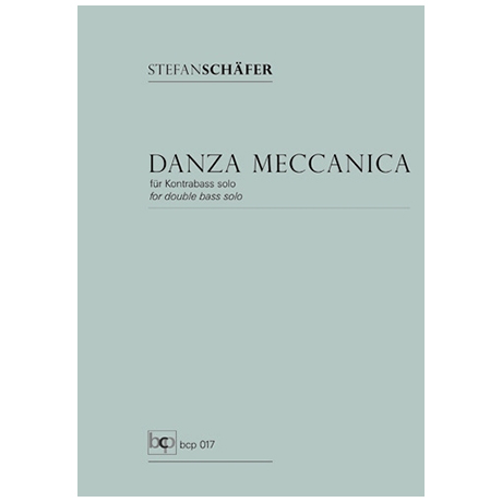 Schäfer, S.: Danza Meccanica