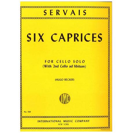 Servais, A. F.: 6 Capricen Op. 11