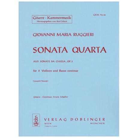 Ruggieri, G. M.: Sonata quarta F-Dur Op. 3