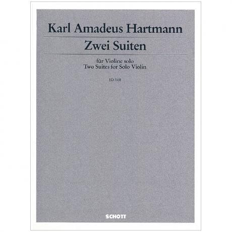 Hartmann, K. A.: Zwei Suiten (1927)