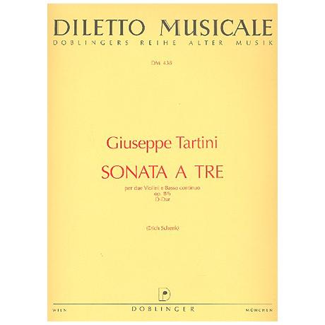 Tartini, G.: Sonata a tre Op. 8/6 D-Dur