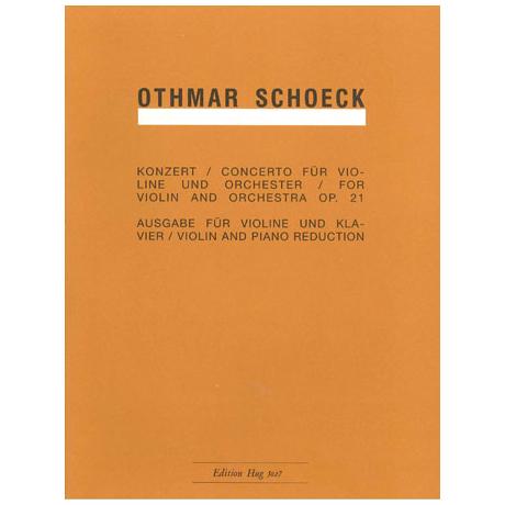 Schoeck, O.: Violinkonzert Op. 21 B-Dur