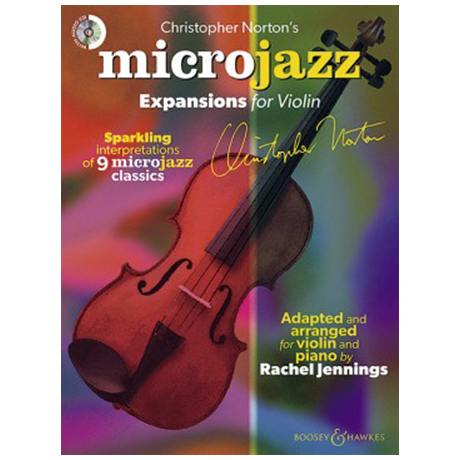 Norton, C.: Microjazz Expansions for Violin (+CD)